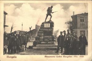 """Monumentul Eroilor Mangalieni"", carte postala"